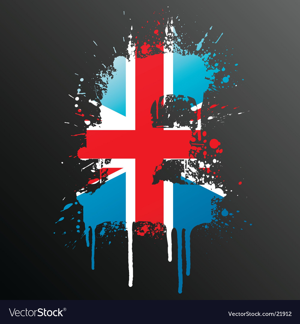 English pound grunge vector | Price: 1 Credit (USD $1)