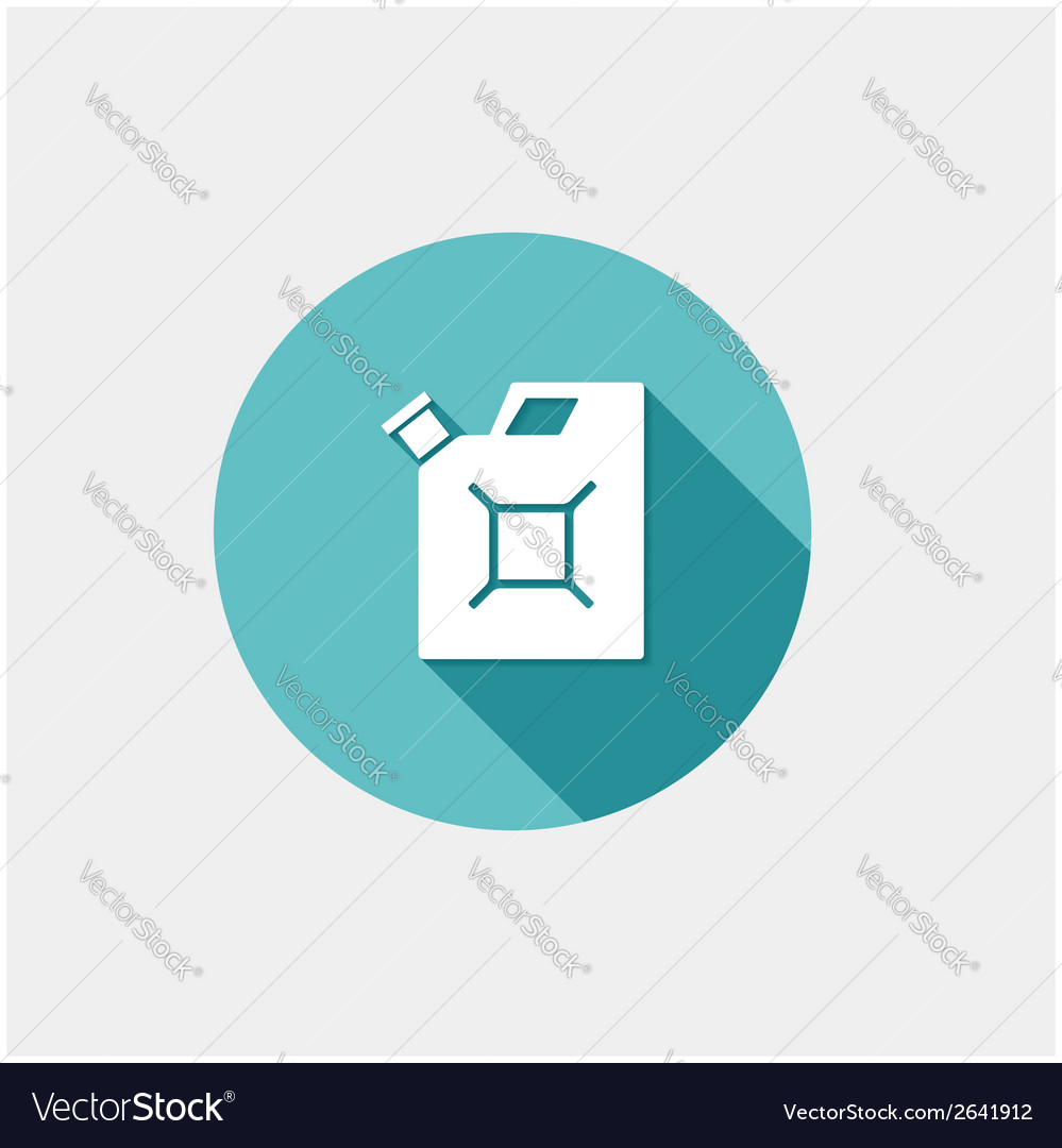 Gas container vector | Price: 1 Credit (USD $1)