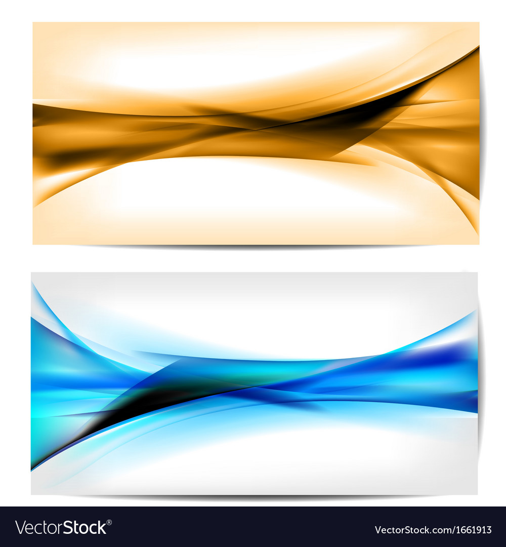 Abstract colored wave on background vector | Price: 1 Credit (USD $1)