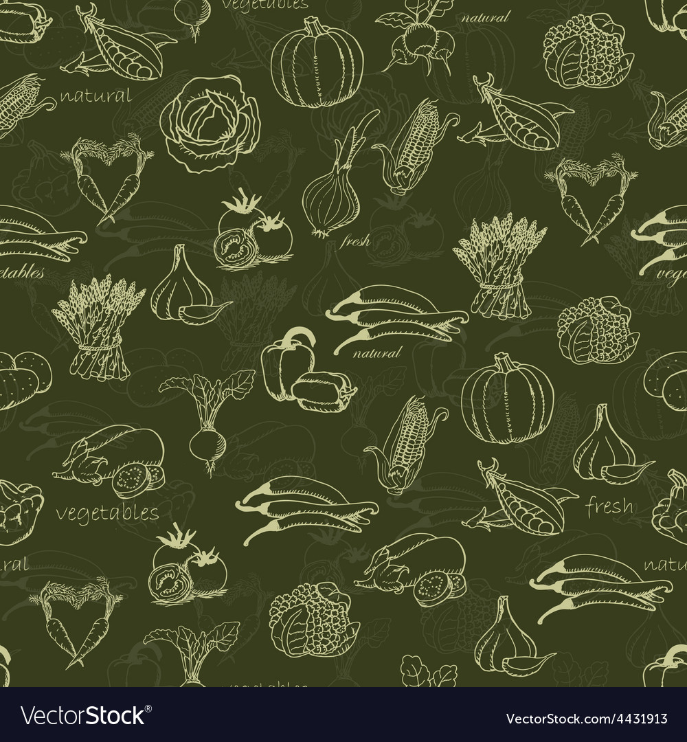 Kitchen seamless pattern with a variety of vector | Price: 1 Credit (USD $1)