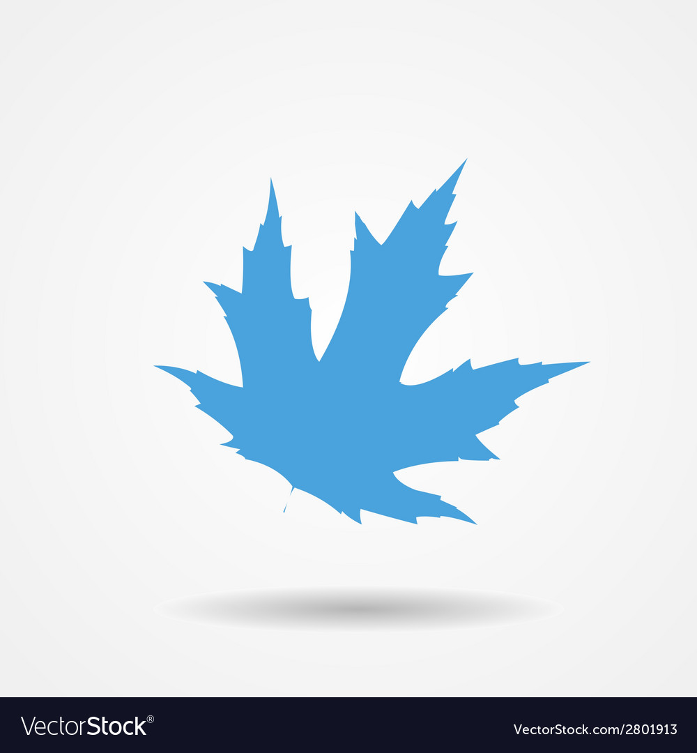 Maple leaf icon vector | Price: 1 Credit (USD $1)