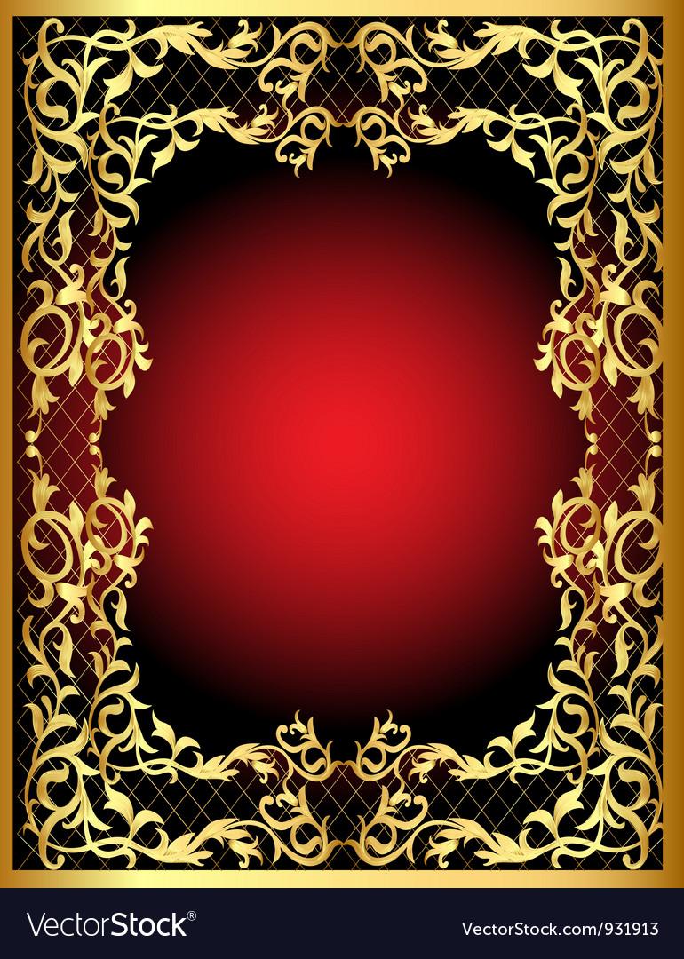Ornamental background vector | Price: 1 Credit (USD $1)
