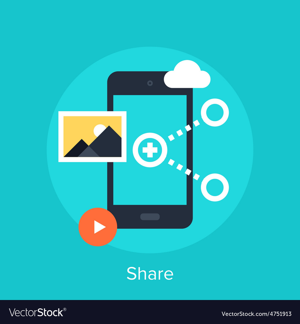 Share icon vector   Price: 1 Credit (USD $1)