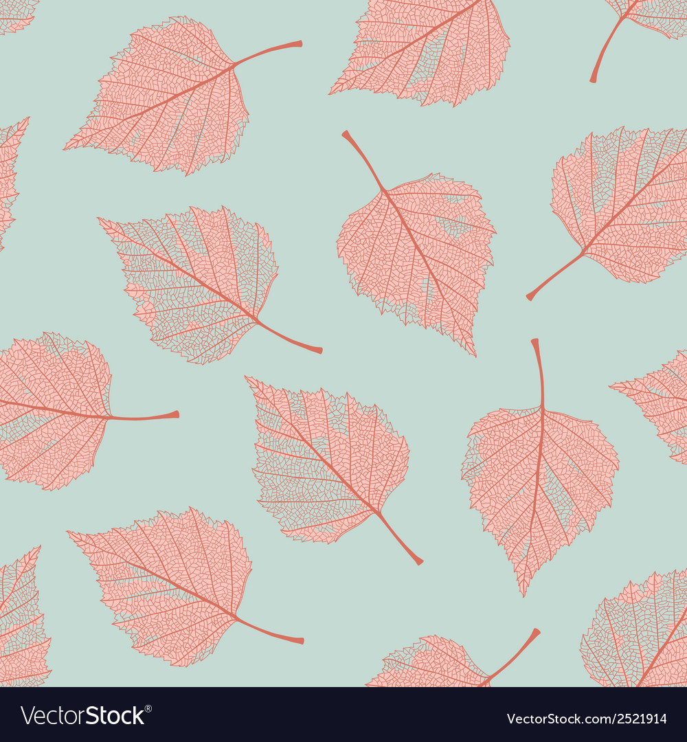 Autumn leaves seamless vector | Price: 1 Credit (USD $1)
