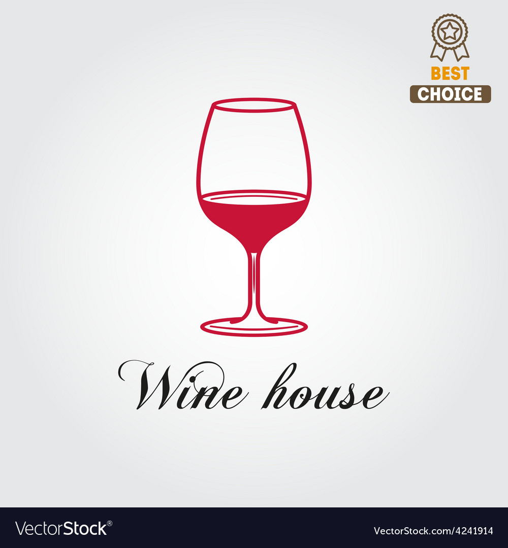 Badge or label for wine winery or wine house vector | Price: 1 Credit (USD $1)