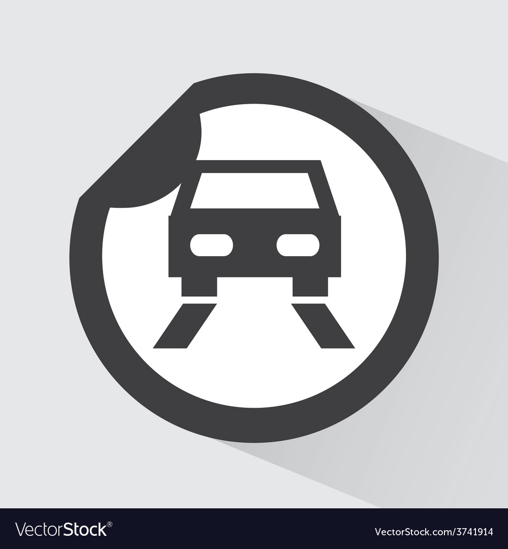 Car icon vector | Price: 1 Credit (USD $1)