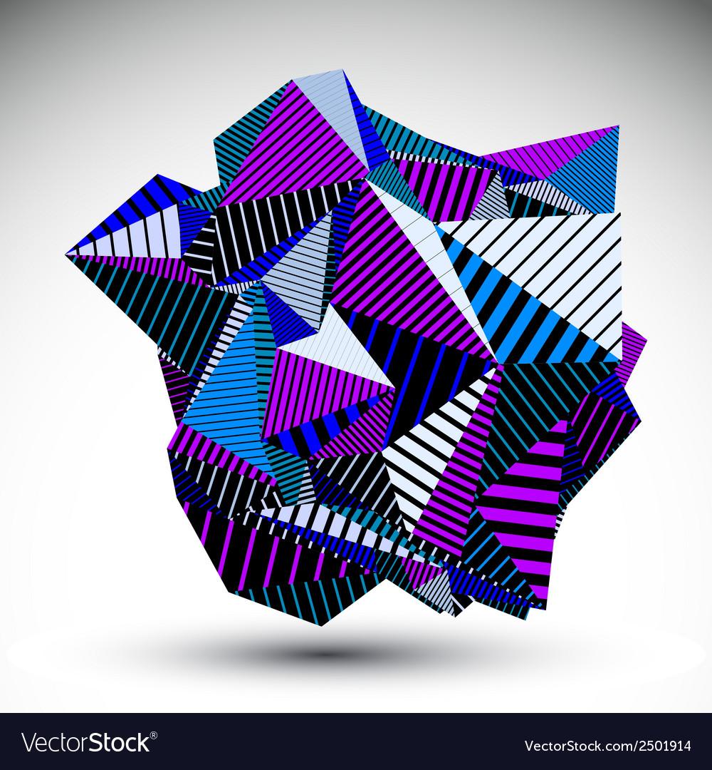 Decorative complicated unusual eps8 figure vector | Price: 1 Credit (USD $1)