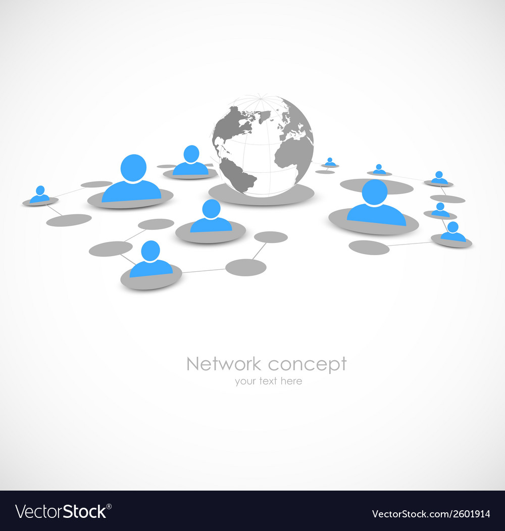 Network background vector | Price: 1 Credit (USD $1)