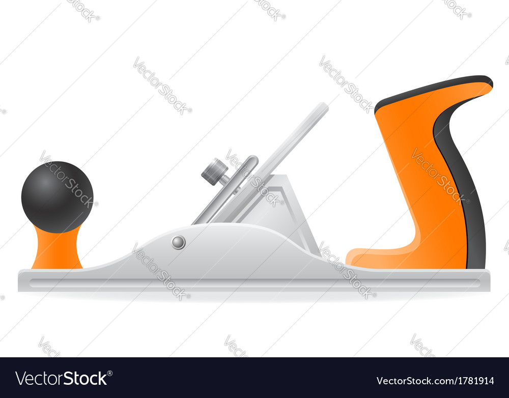 Tool plane 02 vector | Price: 1 Credit (USD $1)