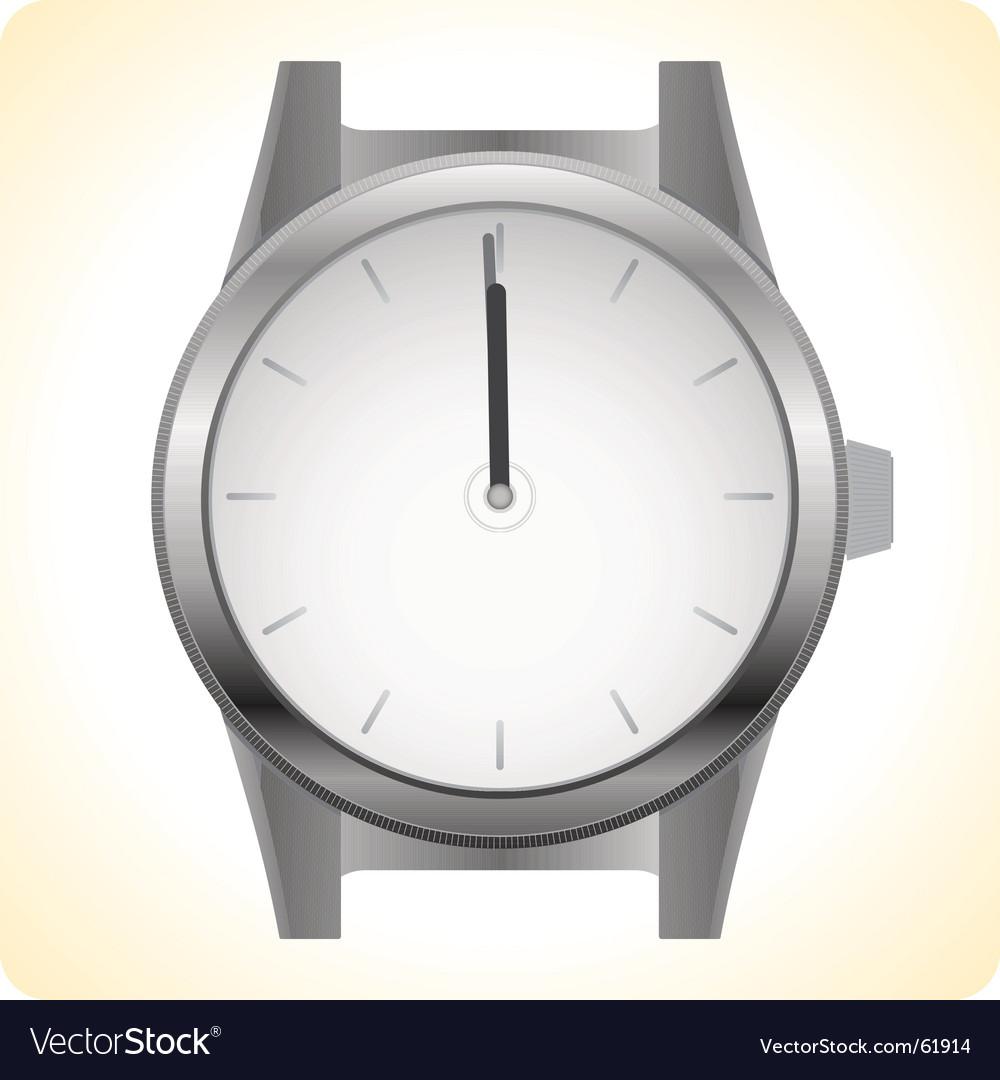 Wrist watch vector | Price: 1 Credit (USD $1)