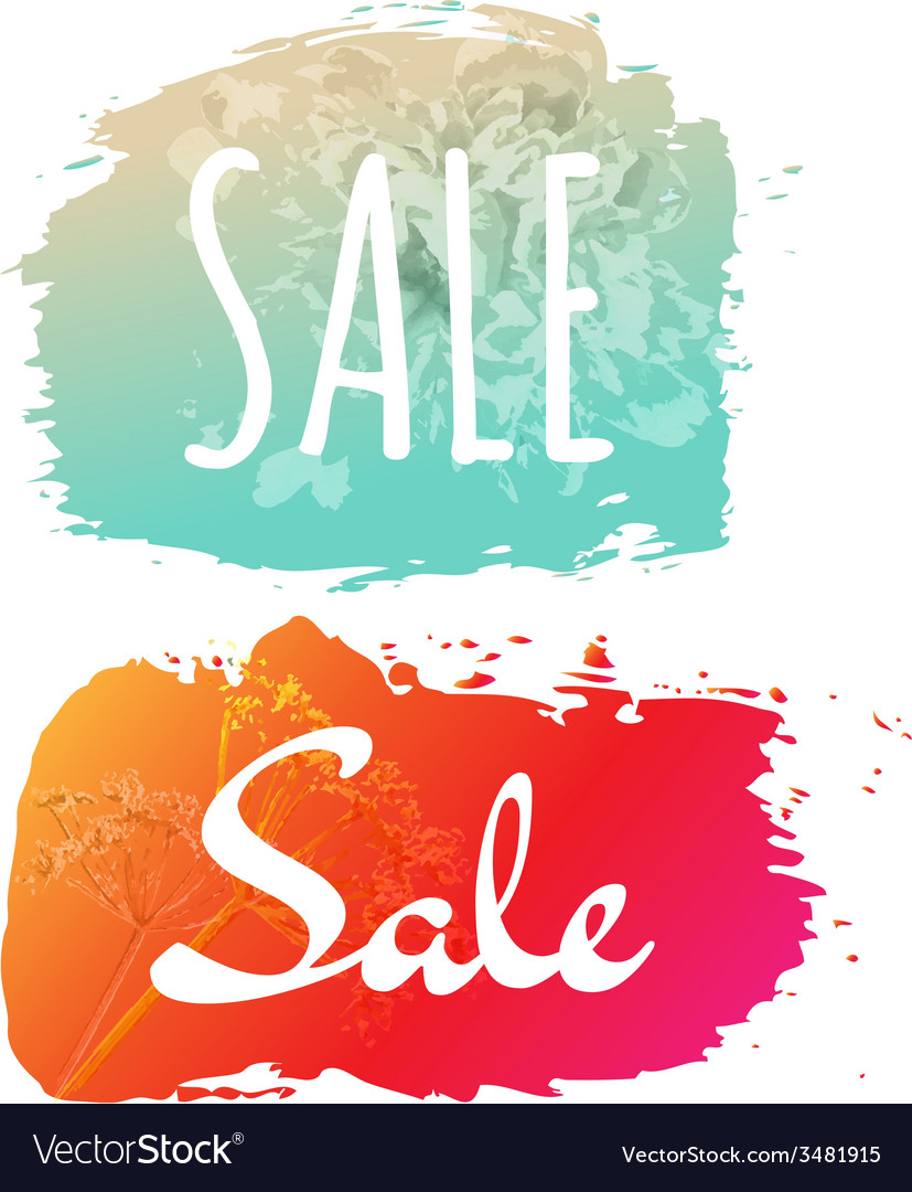 Sale banner set vector | Price: 1 Credit (USD $1)