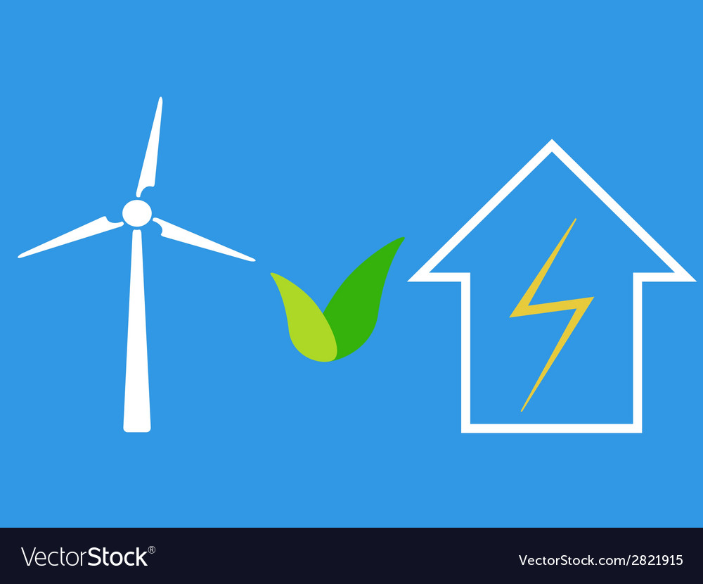 Wind turbine as eco source of energy vector | Price: 1 Credit (USD $1)