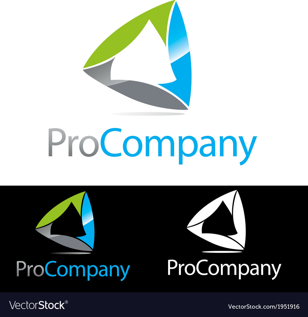 Abstract corporate compnay brand icon logo vector | Price: 1 Credit (USD $1)