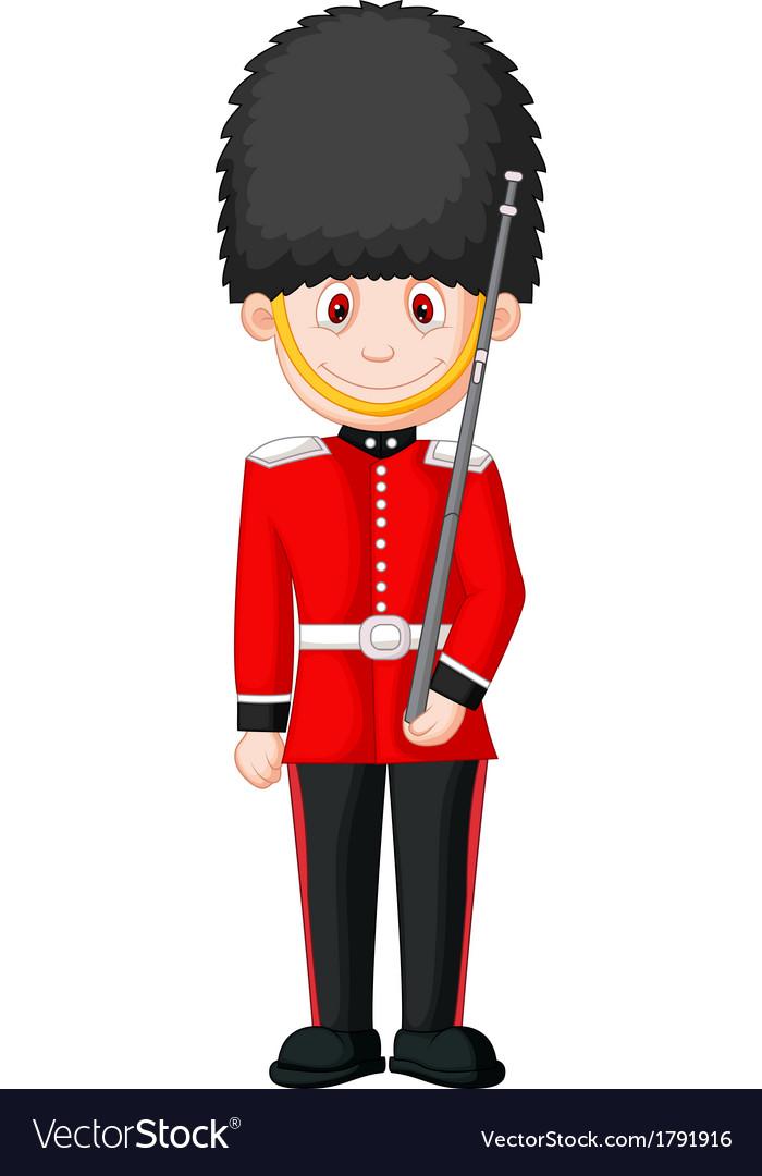 Cartoon a british royal guard vector   Price: 1 Credit (USD $1)