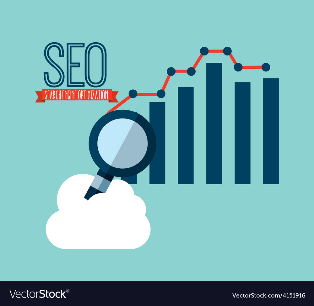 Seo technology vector | Price: 1 Credit (USD $1)