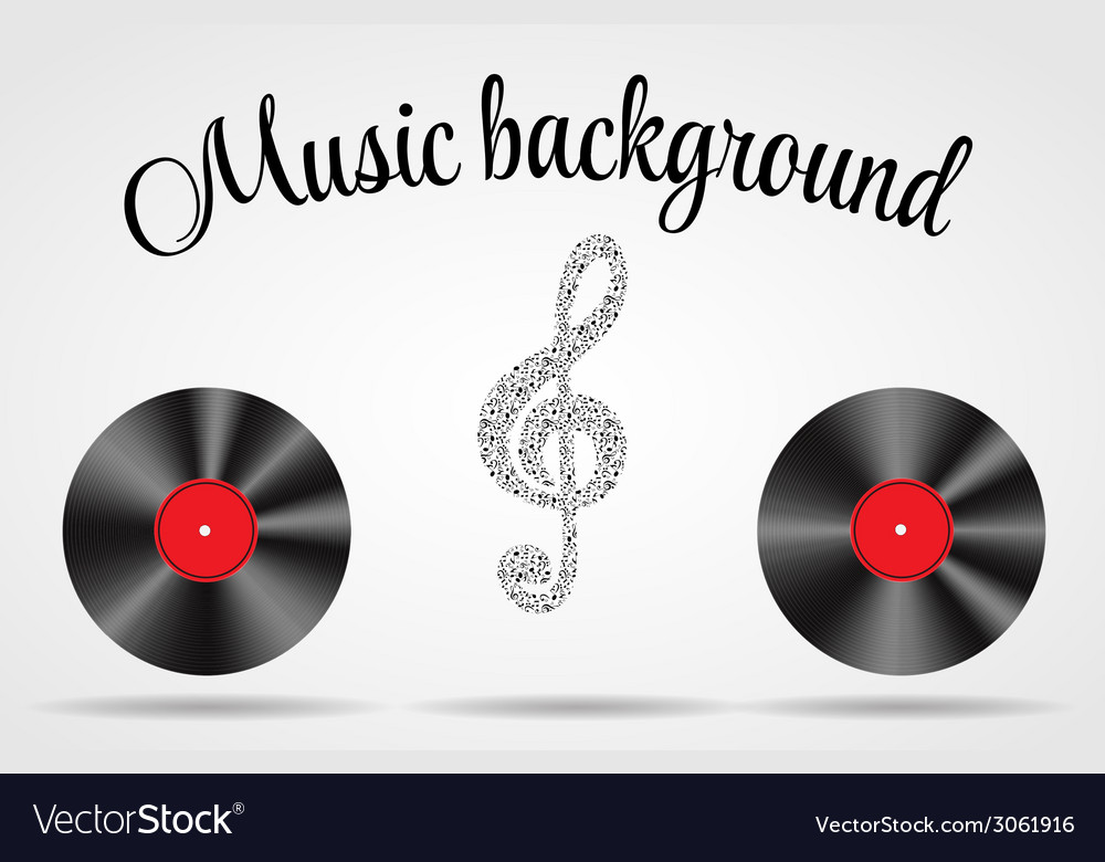 Set of abstract music background for your de vector   Price: 1 Credit (USD $1)