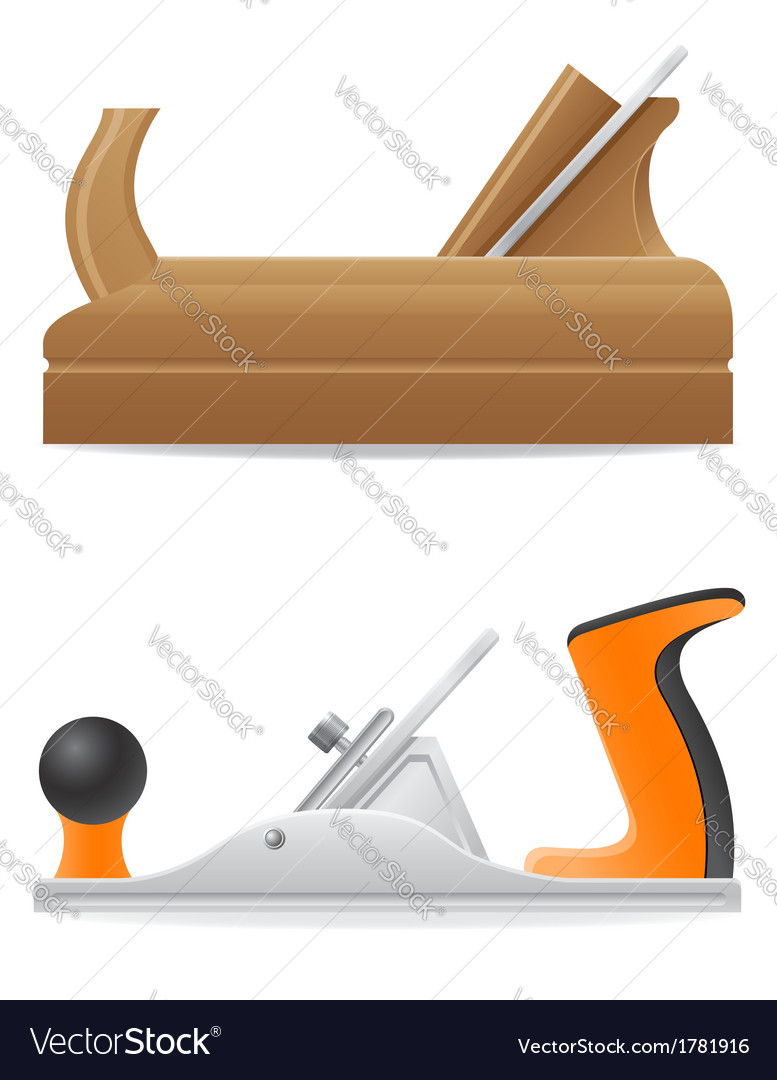 Tool plane 03 vector | Price: 1 Credit (USD $1)