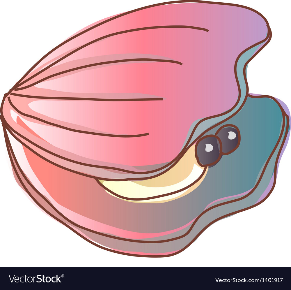 A live shellfish vector | Price: 1 Credit (USD $1)