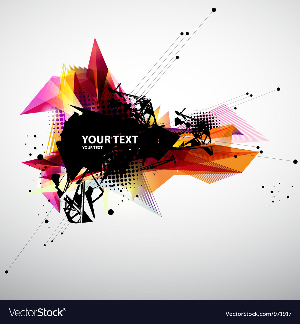 Abstract modern banner vector | Price: 1 Credit (USD $1)