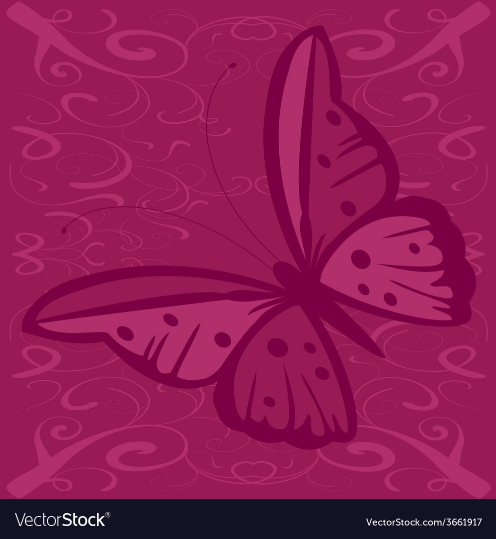 Butterfly with spots vector | Price: 1 Credit (USD $1)