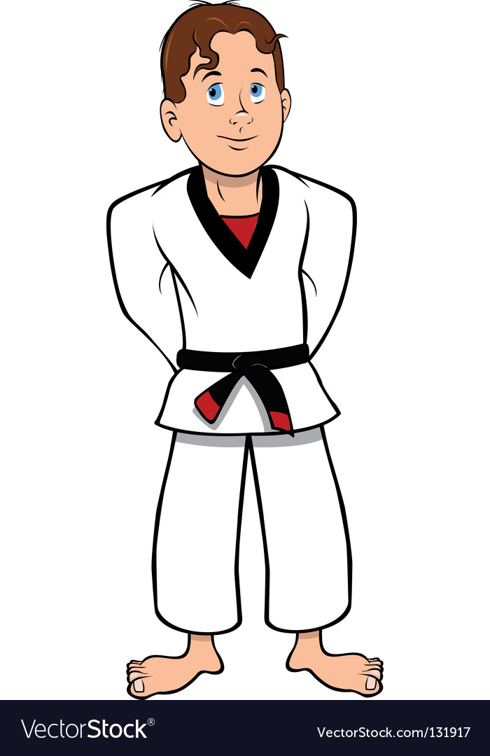 Karate kid vector | Price: 1 Credit (USD $1)