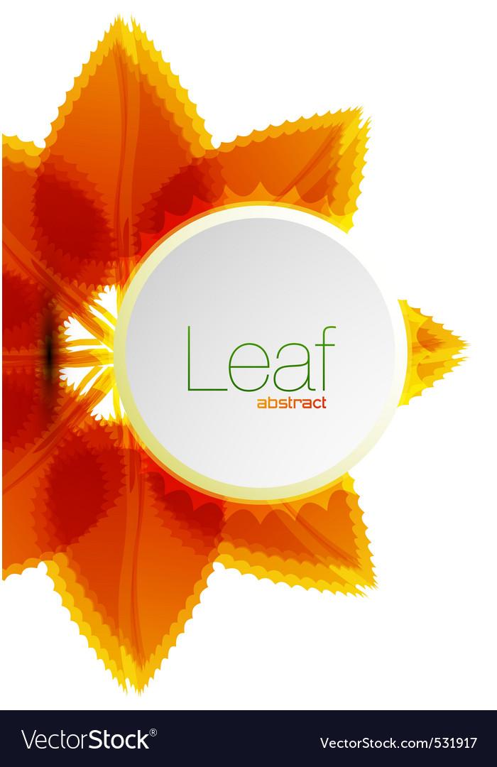 Leaf background vector   Price: 1 Credit (USD $1)