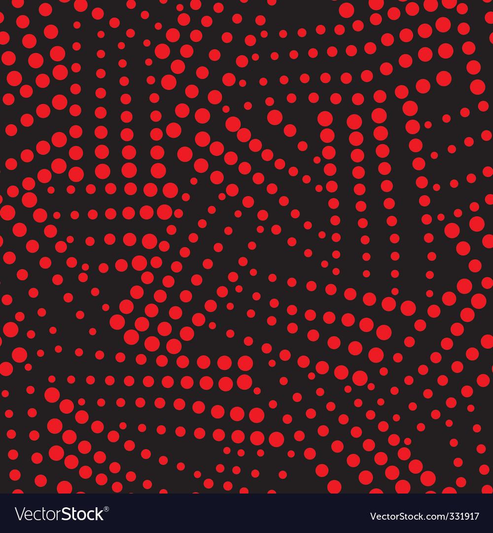 Seamless spot pattern vector | Price: 1 Credit (USD $1)