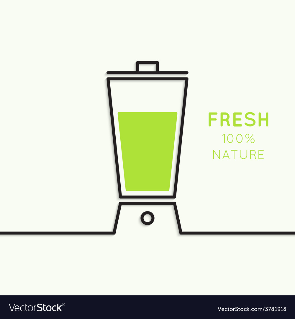 Natural juice vector | Price: 1 Credit (USD $1)