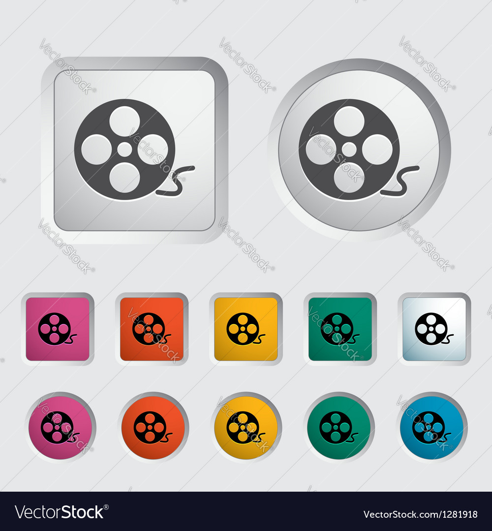 Reel film vector | Price: 1 Credit (USD $1)