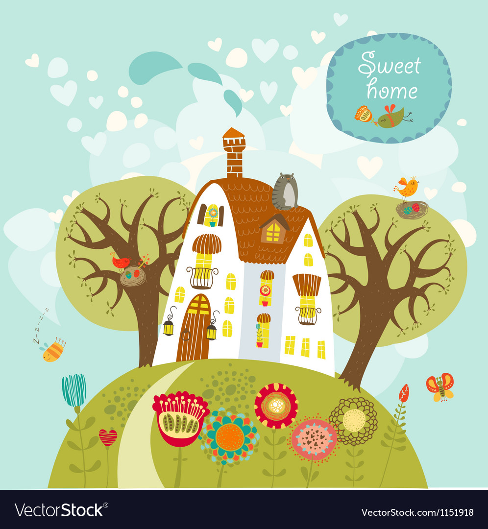 Sweet home vector | Price: 3 Credit (USD $3)