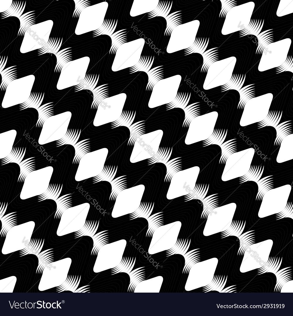 Design seamless stripy diamond zigzag pattern vector | Price: 1 Credit (USD $1)