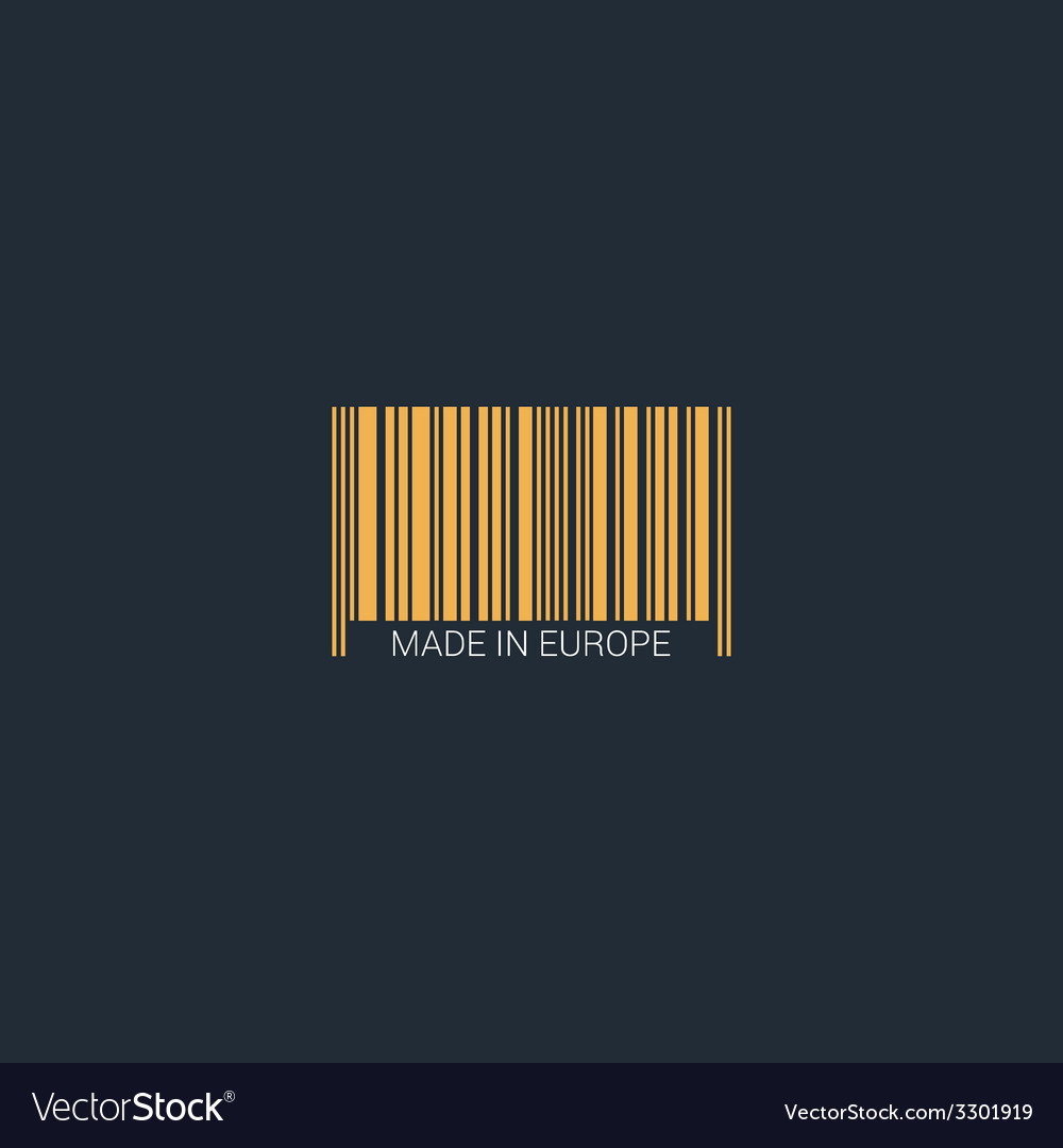 Isolated bar code vector | Price: 1 Credit (USD $1)
