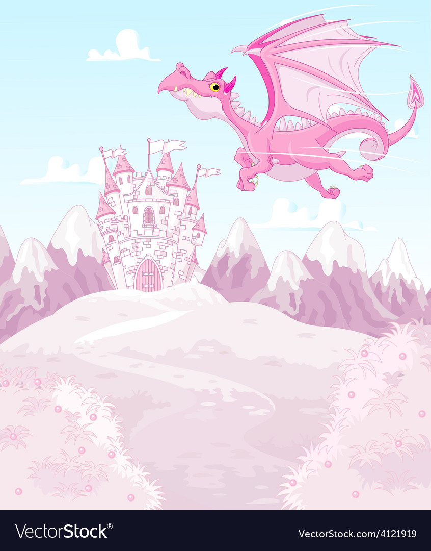 Magic dragon vector | Price: 1 Credit (USD $1)