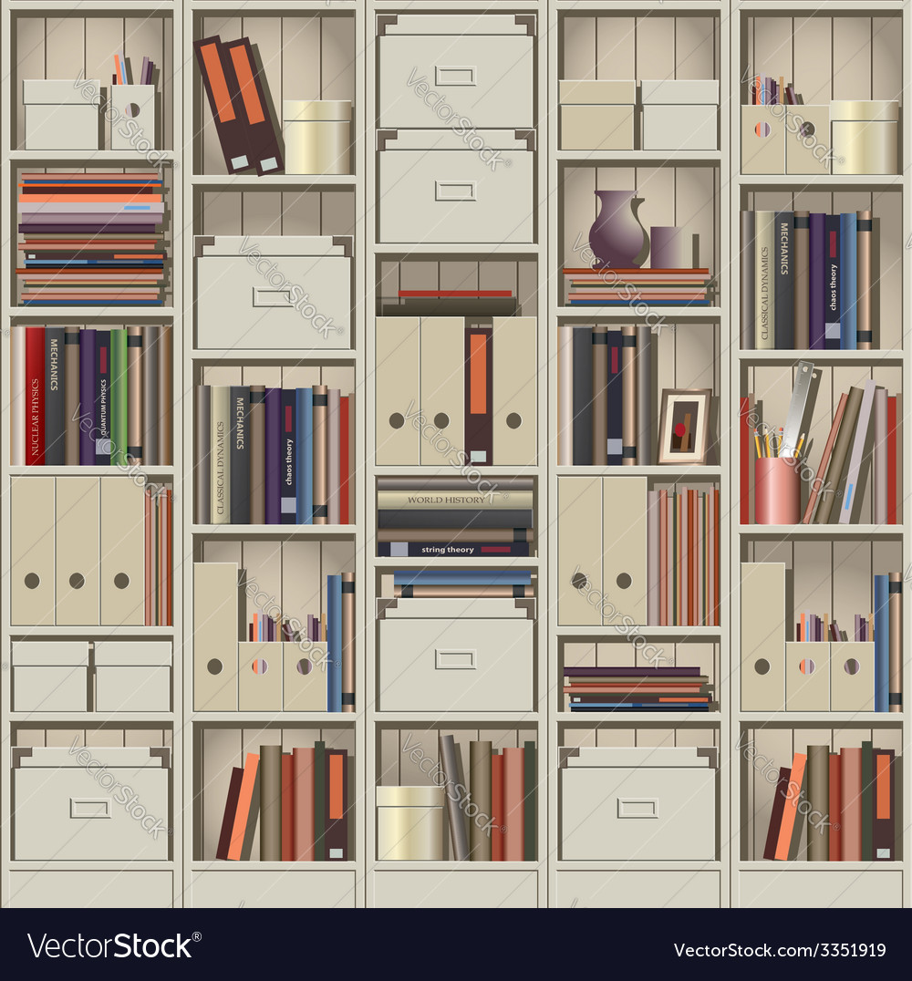 Shelving vector | Price: 3 Credit (USD $3)