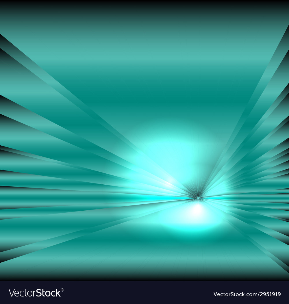 Star burst light on blue background vector | Price: 1 Credit (USD $1)