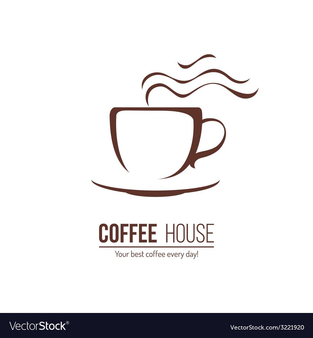 Coffee lofo template vector | Price: 1 Credit (USD $1)