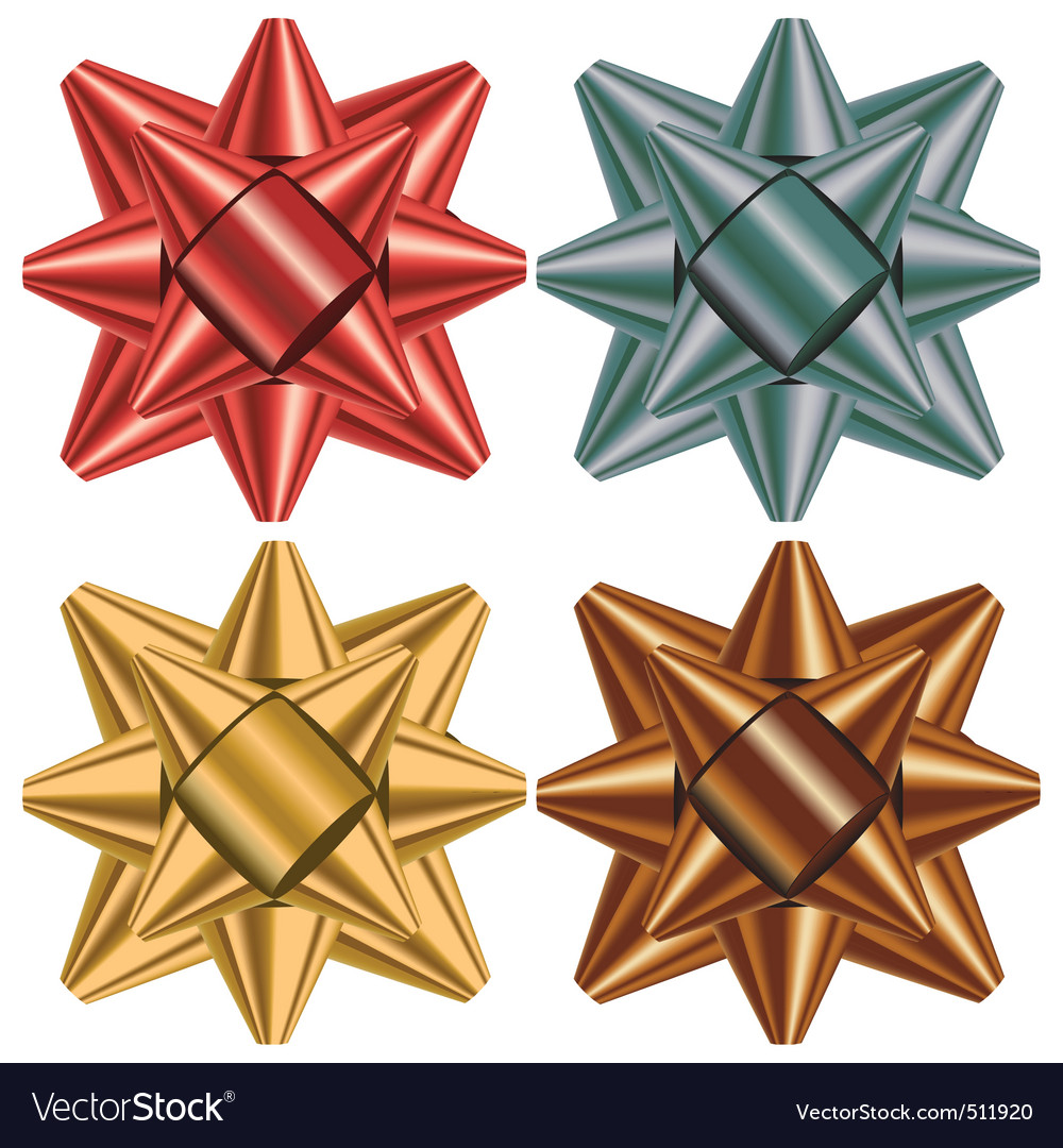 Gift bow selection vector | Price: 1 Credit (USD $1)