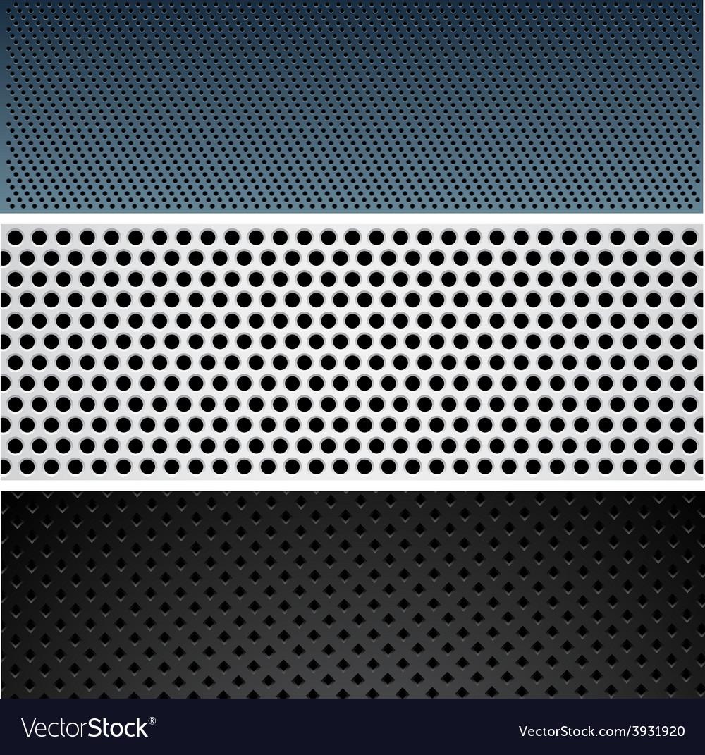 Metallic pattern set vector | Price: 1 Credit (USD $1)