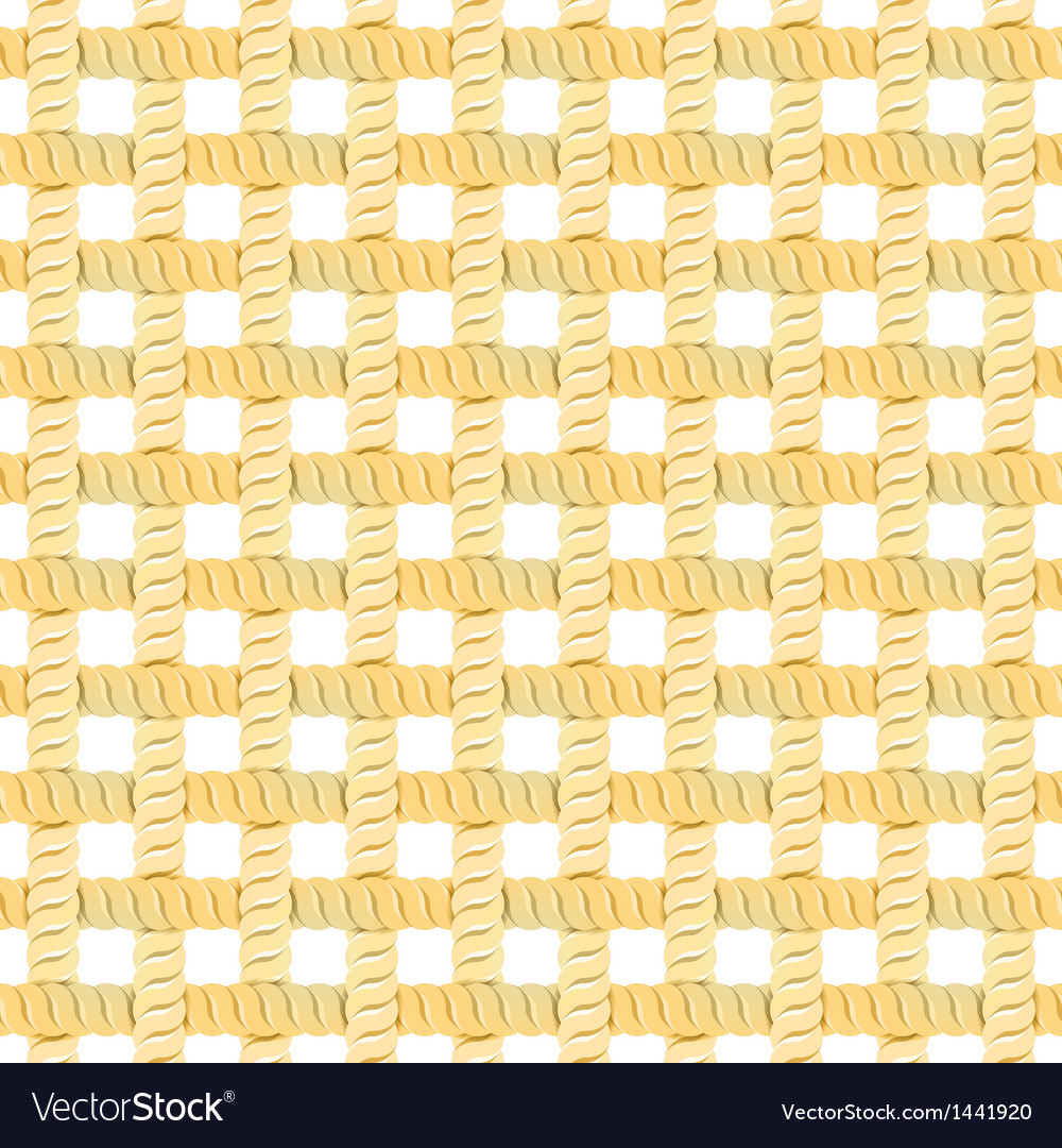 Seamless rope or thread pattern vector | Price: 1 Credit (USD $1)