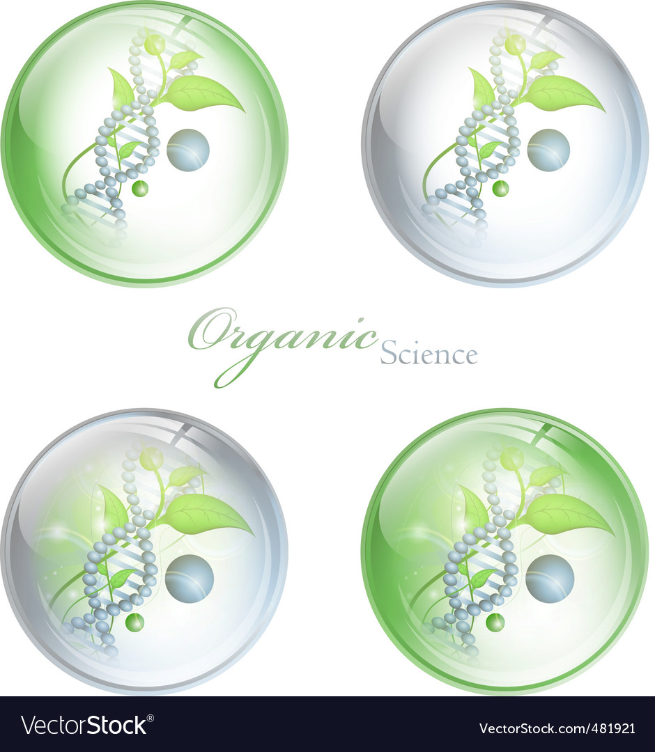 Organic science balls vector | Price: 1 Credit (USD $1)