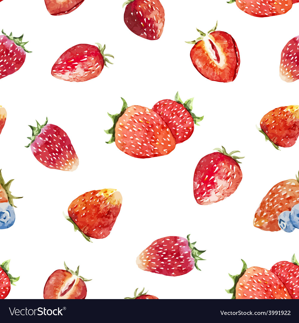 Berry pattern vector | Price: 1 Credit (USD $1)