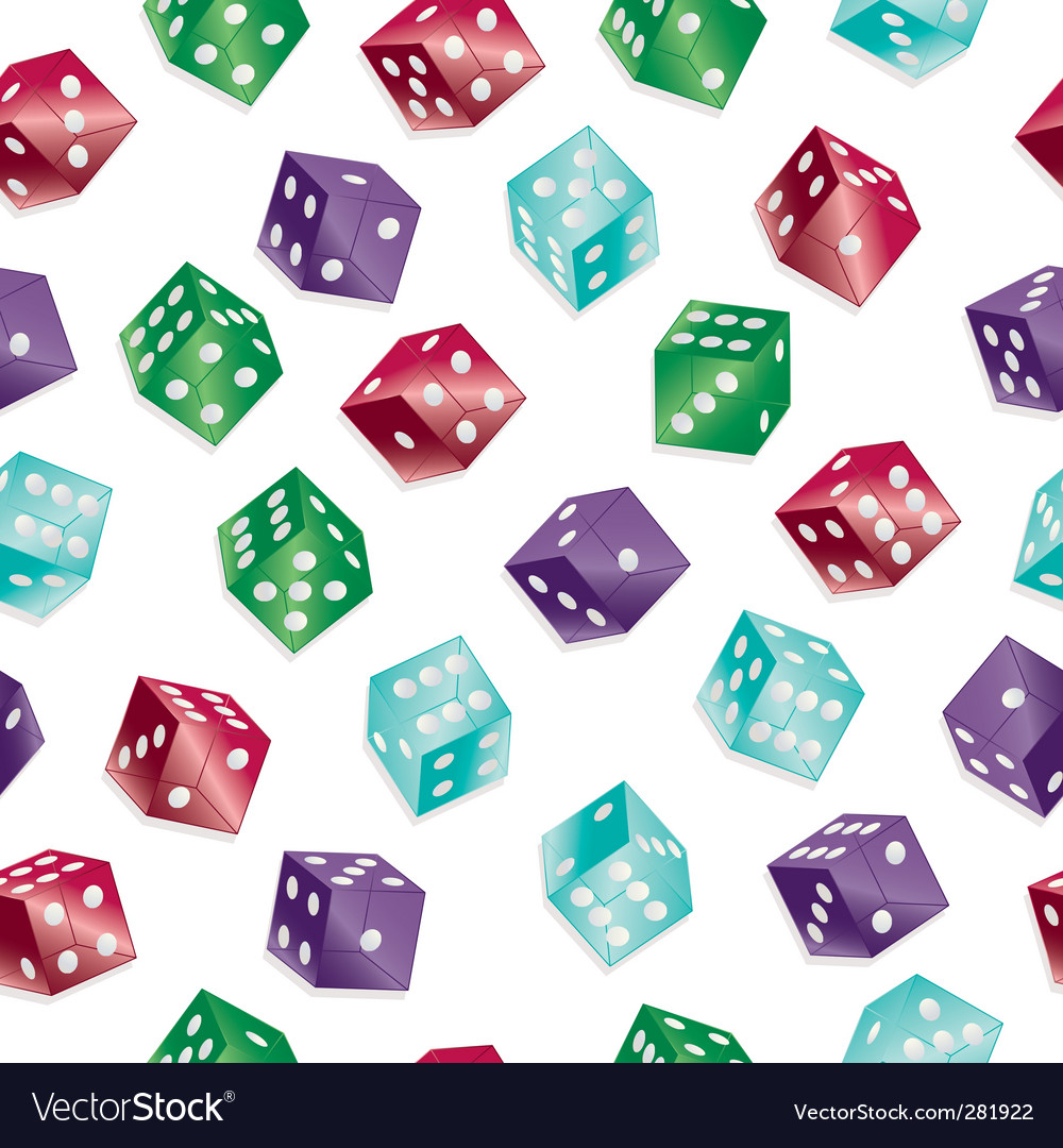 Dice pattern vector | Price: 1 Credit (USD $1)