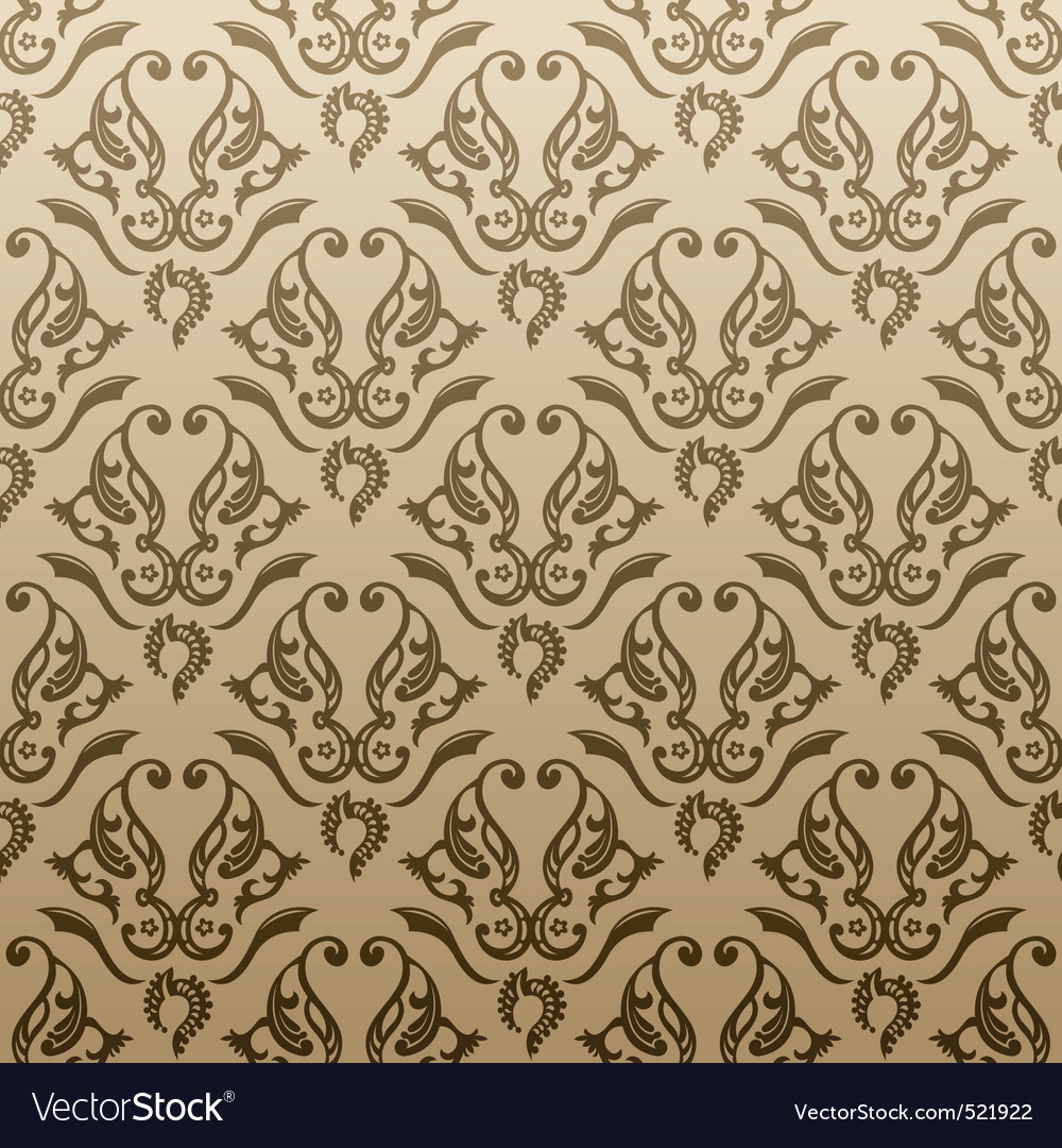 Seamless abstract ornament background vector | Price: 1 Credit (USD $1)