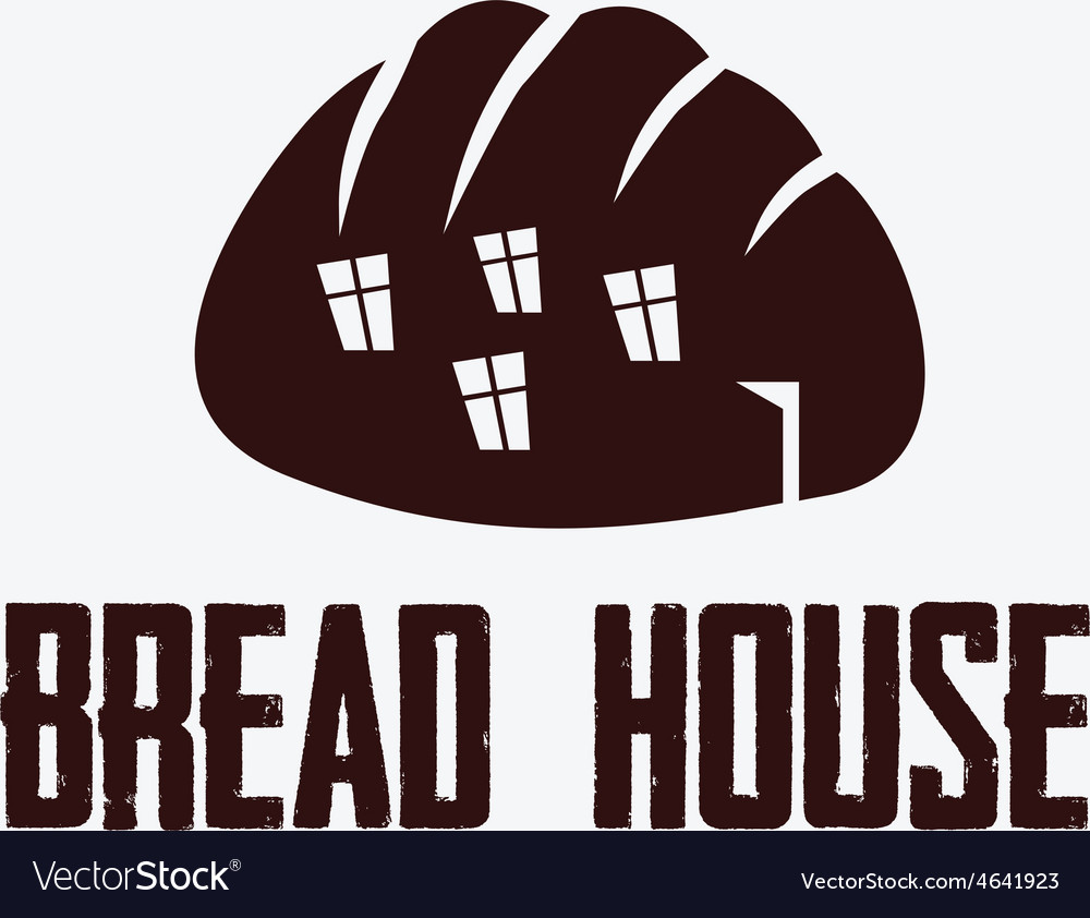 Ilustration of bread house vector | Price: 1 Credit (USD $1)