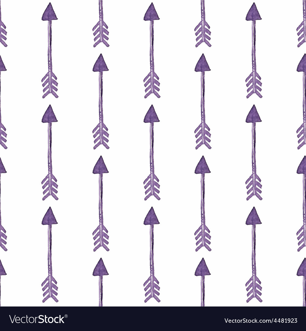 Pattern of ethnic arrows ethnic seamless pattern vector | Price: 1 Credit (USD $1)