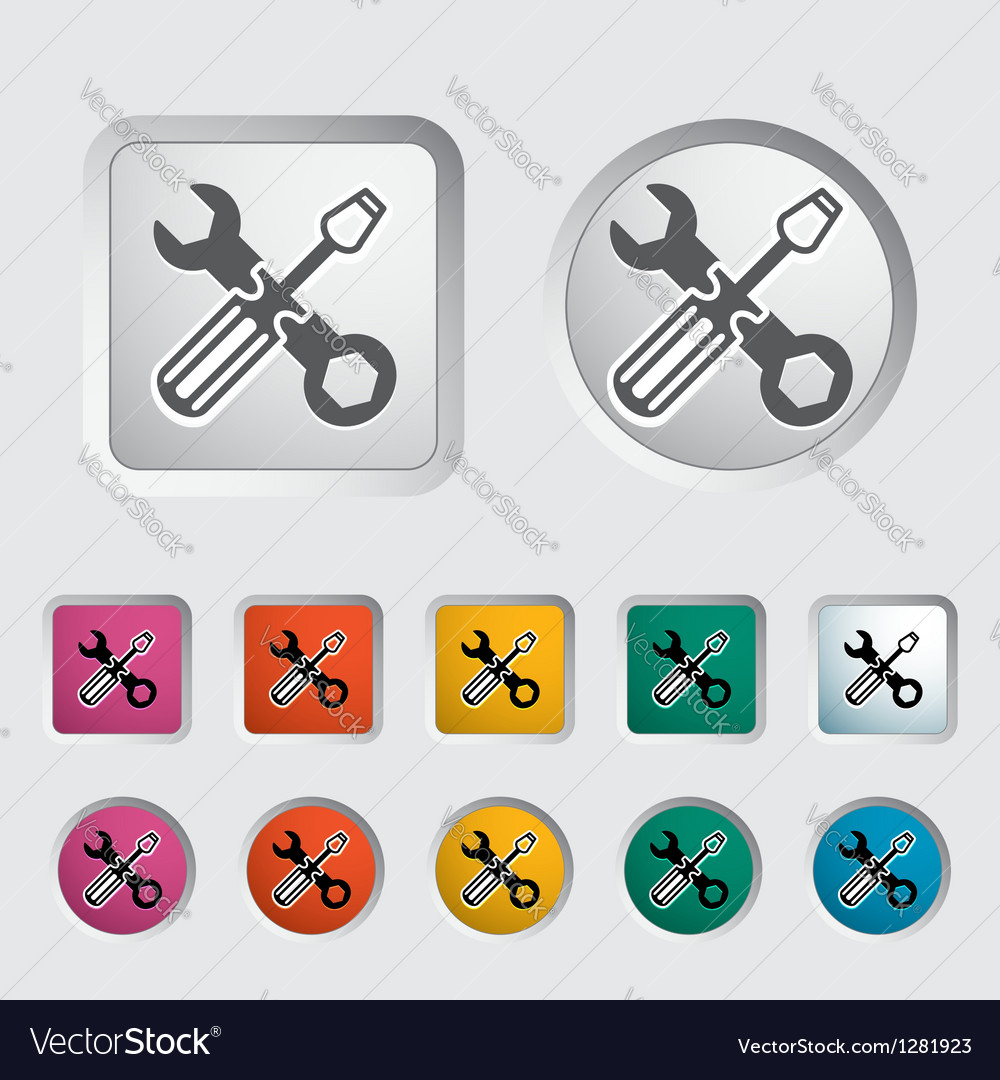 Repair icon vector | Price: 1 Credit (USD $1)