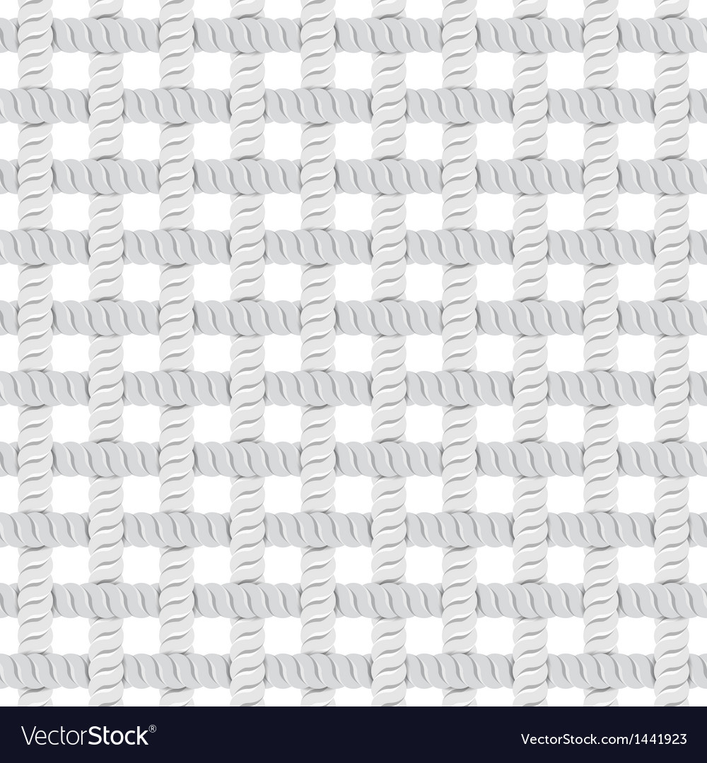 Seamless rope or thread pattern vector   Price: 1 Credit (USD $1)