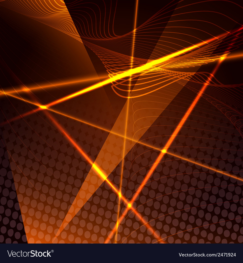 Abstract background with laser beams vector | Price: 1 Credit (USD $1)