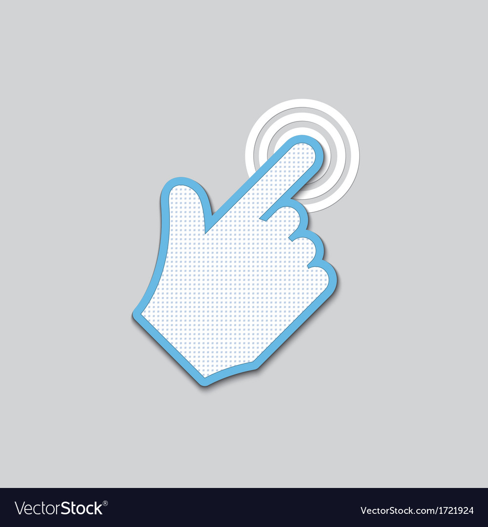 Click icon vector | Price: 1 Credit (USD $1)