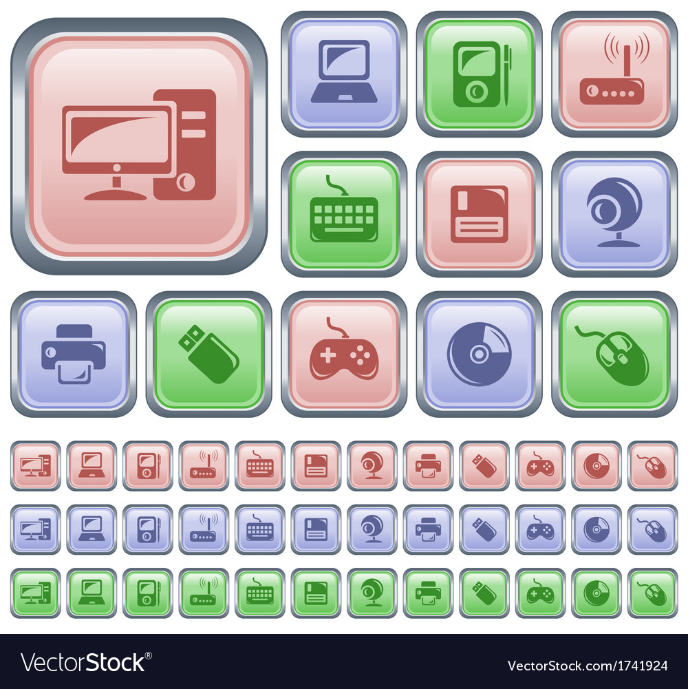 Hardware buttons vector   Price: 1 Credit (USD $1)